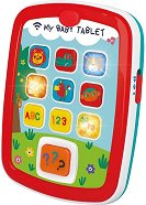 Забавен образователен таблет - Детска играчка със светлинни и звукови ефекти -