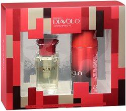 Antonio Banderas Diavolo - Подаръчен комплект за мъже с парфюм и дезодорант -