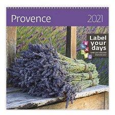 Стенен календар - Provence 2021 -