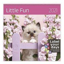 Стенен календар - Little Fun 2021 -