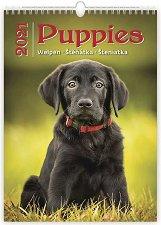 Стенен календар - Puppies 2021 -