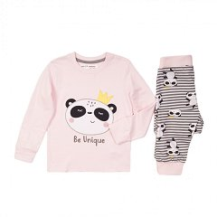 """Детска пижама - 100% памук от серията """"MINOTI Basics"""" -"""