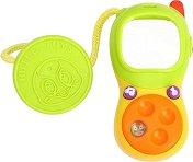 Телефонче - Бебешка играчка със звукови ефекти -