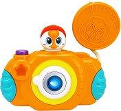 Фотоапарат - Бебешка играчка със светлинни и звукови ефекти -