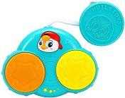 Барабанче - Бебешки музикален инструмент със светлинни ефекти -