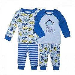 """Детски пижами - Комплект от 2 броя от серията """"MINOTI Basics"""" -"""