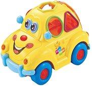 Сортер - Кола - Детска образователна играчка за сортиране : със светлинни и звукови ефекти - играчка