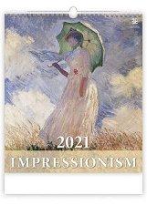Стенен календар - Impressionism 2021 -