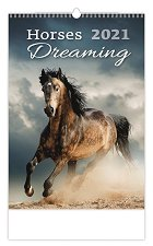 Стенен календар - Horses Dreaming 2021 -