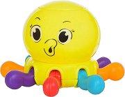 Дрънкалка - Октопод - Бебешка играчка -
