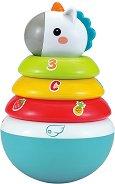 Невеляшка - Еднорог - Детска играчка за нанизване -