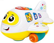 Самолет - Детска образователна играчка със светлинни и звукови ефекти -