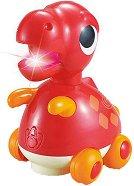 Динозавър - Тиранозавър Рекс - Детска играчка със светлинни и звукови ефекти -