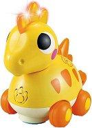 Динозавър - Стегозавър - Детска играчка със светлинни и звукови ефекти -