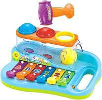 Ксилофон с топчета и чукче -
