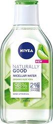 Nivea Naturally Good Organic Aloe Vera Micellar Water - продукт