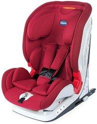 """Детско столче за кола - YOUniverse Fix 2020: Red Passion - За """"Isofix"""" система и деца от 9 до 36 kg -"""