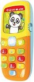 Телефон със звукови и светлинни ефекти - играчка