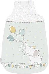Бебешко спално чувалче - Elephant Time - С дължина 70 или 90 cm -