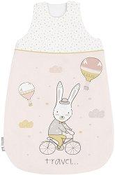 """Бебешко спално чувалче - С дължина 70 или 90 cm от серията """"Rabbits In Love"""" -"""