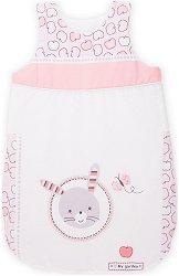 """Бебешко спално чувалче - С дължина 70 или 90 cm от серията """"Pink Bunny"""" -"""