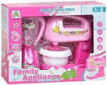 """Детски блендер и миксер - Комплект за игра със светлинни и звукови ефекти от серията """"Family Appliance"""" -"""