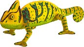"""Хамелеон - Фигурка от серията """"Wildlife"""" - образователен комплект"""