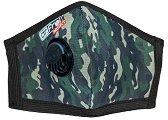Предпазна маска с клапан за многократна употреба FFP2 - Камуфлаж - Със сребърни йони