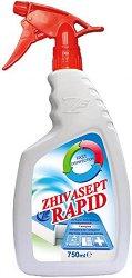 Препарат за бърза дезинфекция на повърхности - Zhivasept Rapid - Разфасовка от 0.750 l - продукт