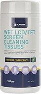Мокри кърпички за почистване на екрани