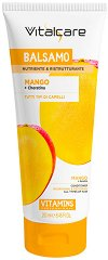 Vitalcare Vitamins Mango Conditioner - Витаминен балсам за всеки тип коса с манго, арган и кератин - продукт