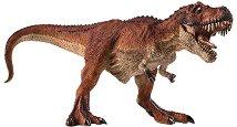 """Динозавър - Червен Тиранозавър Рекс - Фигурка от серията """"Prehistoric and Extinct"""" -"""