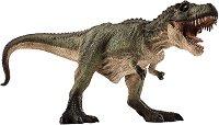 """Динозавър - Зелен Тиранозавър Рекс - Фигурка от серията """"Prehistoric and Extinct"""" -"""