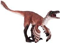 """Динозавър - Троодон с подвижна челюст - Фигурка от серията """"Prehistoric and Extinct"""" -"""