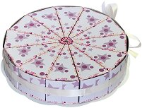 Картонена торта - Звездички -