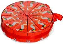 Картонена торта - Бъгита - Комплект от 12 парчета -