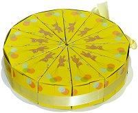 Картонена торта - Мечета - Комплект от 12 парчета -