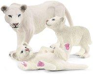 Бяла лъвица и малки лъвчета - фигури