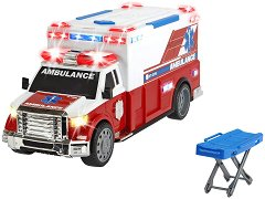"""Линейка и болнично легло - Детска играчка със светлинни и звукови ефекти от серията """"Action"""" -"""