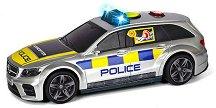 "Mercedes AMG E43 - Детска играчка със светлинни и звукови ефекти от серията ""SOS"" - играчка"