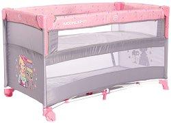 Сгъваемо бебешко легло на две нива - Up And Down -