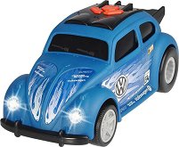 """VW Beetle - Детска играчка със светлинни и звукови ефекти от серията """"Racing"""" -"""