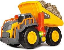 """Самосвал - Volvo Weight Lift - Детска играчка със светлинни и звукови ефекти от серията """"Construction"""" - играчка"""