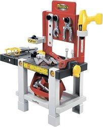 Работилница с инструменти - Детски комплект за игра с аксесоари -