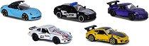 5 метални колички - Porsche -