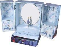 """Музикална кутия за бижута - Елза и Анна - Детски аксесоар от серията """"Замръзналото кралство"""" - раница"""