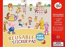 Светът около нас - Детски образователен комплект с многократни стикери - играчка