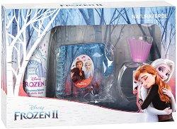 """Детски подаръчен комплект - С козметика от серията """"Замръзналото кралство"""" - душ гел"""