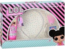 """Детски подаръчен комплект - С козметика от серията """"L.O.L. Surprise"""" -"""