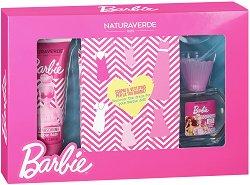 """Детски подаръчен комплект - С козметика от серията """"Barbie"""" -"""